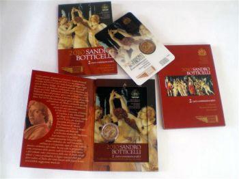 San Marino 2010 2 Euro Sandro Botticelli   -   Free shipping