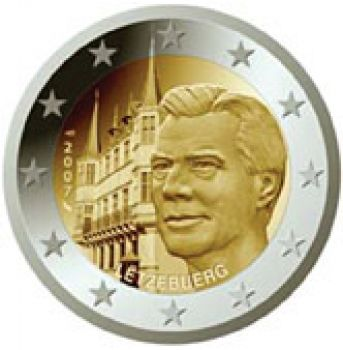 2007 Luxembourg 2 Euro Commemorative Coin UNC