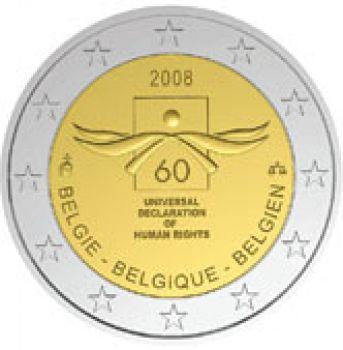 2008  Belgium 2 Euro Commemorative Coin UNC