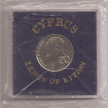 Cyprus 20 cents 1989