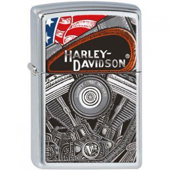Zippo Harley-davidson Engine  -  Free shipping