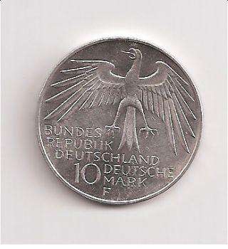 10 Deutschmarks Silver Coin Olympics 1972