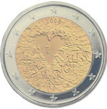 2008 Finland 2 Euro Commemorative Coin UNC