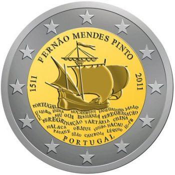 2011 Portugal 2 Euro Commemorative Coin UNC