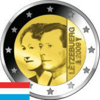 2009 Luxembourg 2 Euro Commemorative Coin UNC