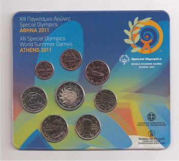 XIII Special Olympics-Summer Games Athens 2011- Blister BU