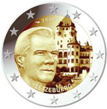 2008 Luxembourg 2 Euro Commemorative Coin UNC