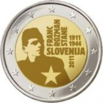2011 Slovenia 2 Euro Commemorative Coin UNC