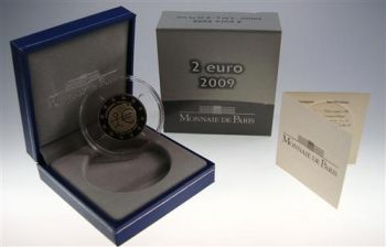 FRANCE. 2 Euro Proof EMU 2009  -  Free shipping