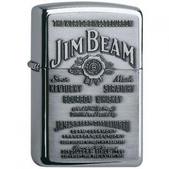 Zippo Jim Beam Pewter Emblem  -  Free shipping