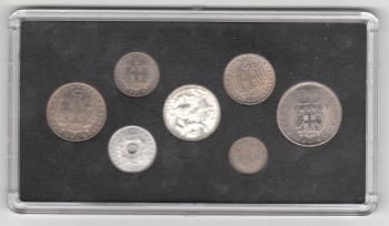 Greece - Complete Year Set 1965 in plastic case UNC!!!!
