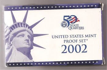 USA Mint Proof set 2002