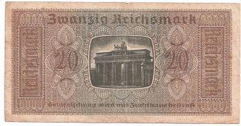 GREECE (GERMANY OCCUPATION)  50 DM   VF+ (Offer !!)