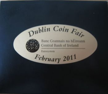 IRELAND. Set 1 Cent - 2 Euro Coin Fair Dublin 2011  -  Free shipping