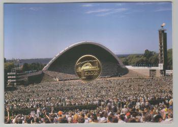 Estonia 1 kroon 1999 Song Festival km#36