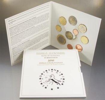 SLOVENIA. Euro Set BU 2010 (10 coins)