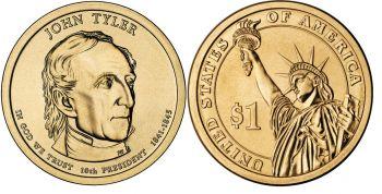 USA 1 dollar 2009 J.Tyler UNC