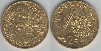 Poland 2 zlote 2004 Stanislaw Wyspianski y#512