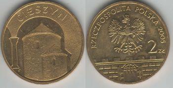 Poland 2 zlote 2005 Cieszyn