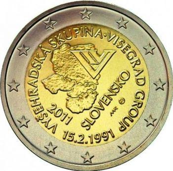 2011 SLOVAKIA 2 EURO COMMEMORATIVE COIN