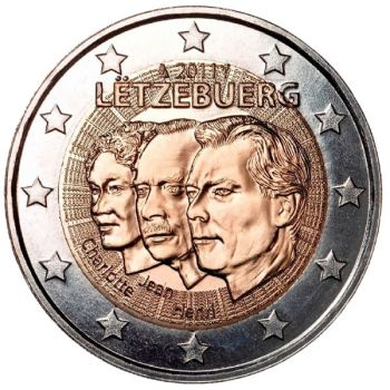 LUXEMBOURG 2 EURO 2011 (Grand Duke of Luxembourg ) UNC