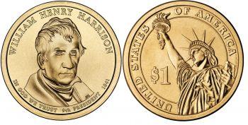USA 1 dollar 2009 W.H.Harrison UNC