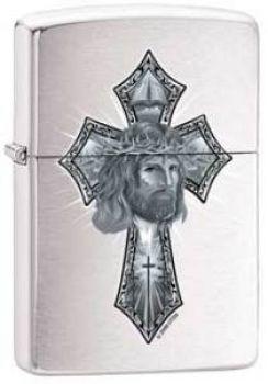 2010. Zippo Jesus Cross   -   Free shipping