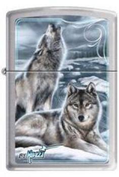 2010. Zippo Mazzi-Winter Wolves  -  Free shipping