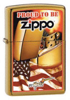 2009. Mazzi-Proud To Be Zippo  -  Free shipping