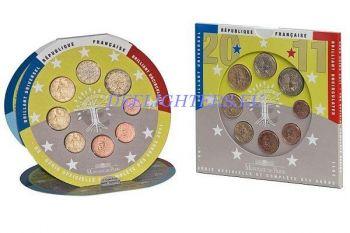 FRANCE Euro BU set 2011