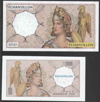 France Echantillon UNC