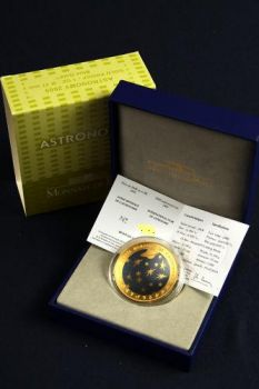 FRANCE. 200 Euro 1oz Gold Proof Astronomy 2009 (Free of VAT)