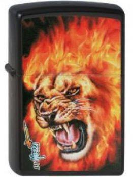 2010. Zippo Mazzi-Flame Lion   -    Free shipping