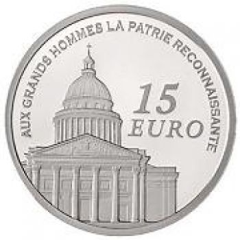 FRANCE. Euro set PROOF 2010. 1 Cent - 2 Euro + 15 Euro Ag