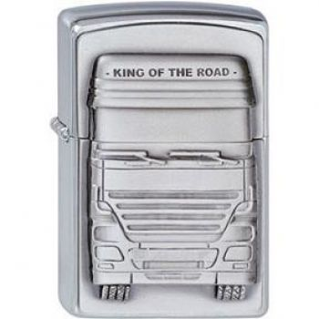 ZIPPO King of the Road Emblem   -   Free shipping