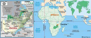ZAMBIA 2 KWACHA 1980 - 1988 P24 UNC