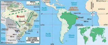 BRAZIL 100 CRUZ. 1986-87 P 211  UNC