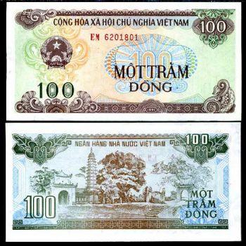 VIETNAM 100 DONG 1991 P 105 UNC