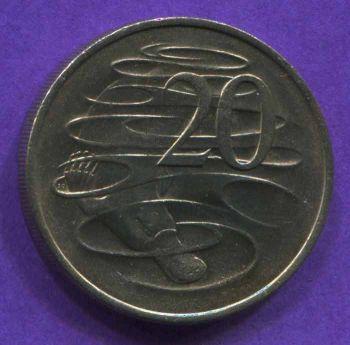 AUSTRALIA 20 CENTS 1979 AU-UNC