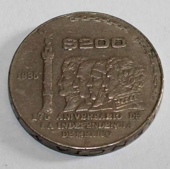 MEXICO 200 PESOS 1985