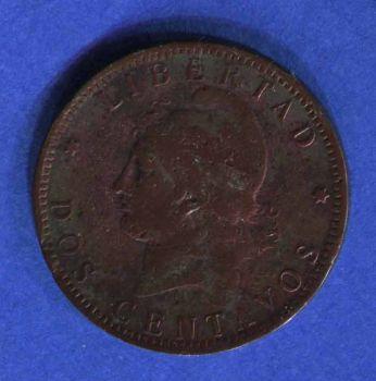 ARGENTINA 2 CENTAVOS 1894