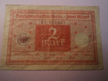 1914 GERMANY 1 MARK  P-51 UNC