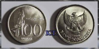 INDONESIA 100 RUPEES 1999 UNC