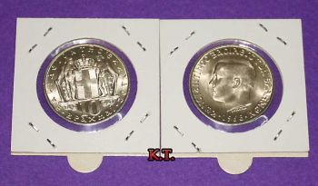 10 Δραχμές 1968 BRILLIANT UNCIRCULATED
