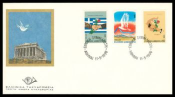 Greece- 1990 National reconciliation FDC
