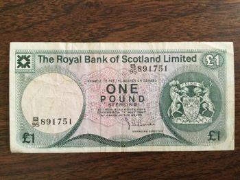 SCOTLAND 1 POUND 27-6-2000 UNC (Κάστρο Εδιμβούργου)