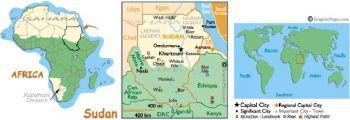 SUDAN SET 1 & 2 POUNDS 2006-2007 P 64-65 UNC