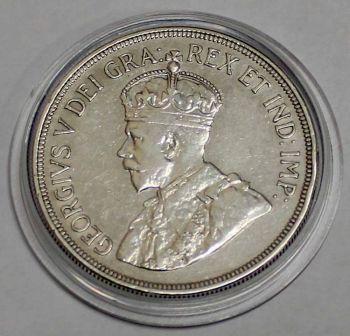CYPRUS 45 PIASTRES 1928 SILVER HIGH GRADE