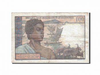 COMOROS ISLANDS 500 FRANCS P15a 2006, 1st SIGN, MONKEY UNC