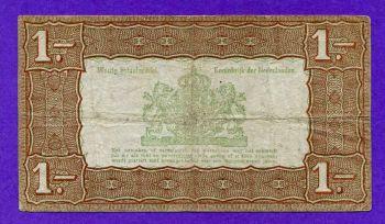 NETHERLANDS 1 GULDEN 1938